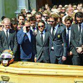 Trauerfeier in Nizza für Jules Bianchi