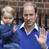 Kindergeburtstag bei den Royals