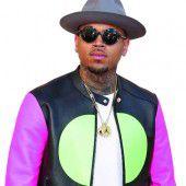 Chris Brown festgehalten