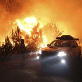 Waldbrände halten Kroatien in Atem
