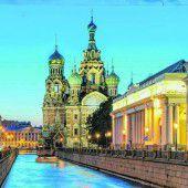 Prachtvolle Stadt St. Petersburg