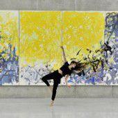 Bildsprache umgesetzt in Tanz: Anuschka Von Oppen ließ sich von Joan Mitchell inspirieren