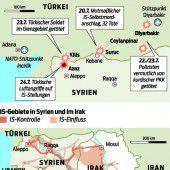 Türkei fliegt Angriffe auf Terrormiliz