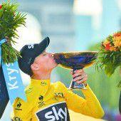 Zweiter Tour-de-France-Triumph von Christopher Froome