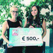 Team von Russmedia gibt 500 Euro