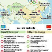 Peking ist im Duell mit Almaty der Favorit