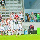 Altach mit Sensationssieg beim Europacup-Debüt