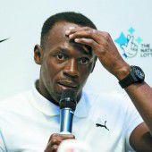 Usain Bolt wird bei der WM am Start sein