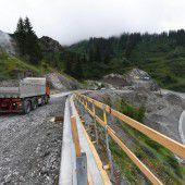 Arbeit an neuer Arlberg-Zufahrt