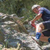 Altachs Kicker auf Klettertour
