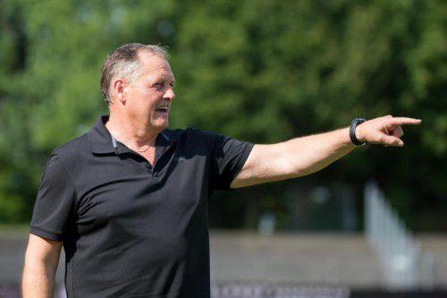 Hofft zum Saisonauftakt auf einen Heimsieg gegen Pinzgau/Saalfelden: Bregenz-Kotrainer Christian Tschofen.