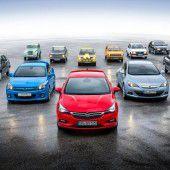 Die Kompakten von Opel