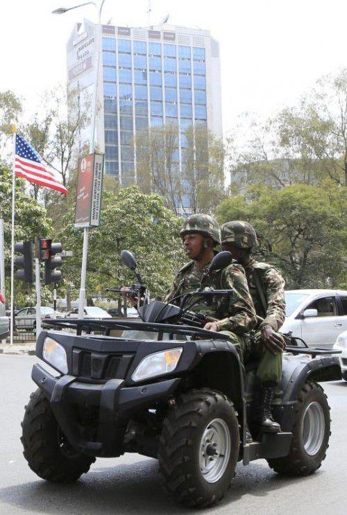 In Kenias Hauptstadt Nairobi wird derzeit kontrolliert, was geht.