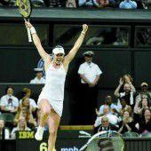 Martina Hingis holte zwei Titel