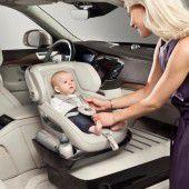 Volvo zeigt neuen Kindersitz