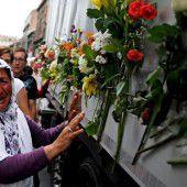 Gedenken an das Massaker von Srebrenica