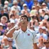 Novak Djokovic ist auf den Spuren von Becker