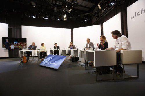 """Lesung von Katerina Poladjan bei den """"39. Tagen der deutschsprachigen Literatur"""" in Klagenfurt.  Foto: ORF/Puch Johannes"""