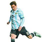 Messis Jagd nach der Copa