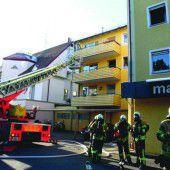 Mutmaßliche Brandstiftung in Lindau forderte fünf Verletzte