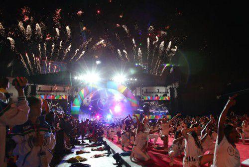 Mit einer imposanten Show wurden die Special Olympic World Games in Los Angeles feierlich eröffnet.