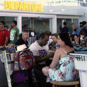 Vulkanausbrüche sorgen für Chaos am Flughafen
