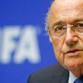 Sepp Blatter kämpft um seine Macht