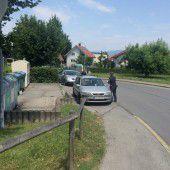 Parkplatznot am Bruggerloch in Höchst