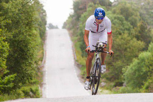 Paul Reitmayr hat sich für die Ironman-70.3-WM in Zell qualifiziert.
