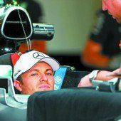 Rosberg greift beim Rivalen an