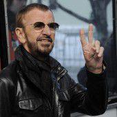Ringo feiert im Zeichen von Liebe und Frieden