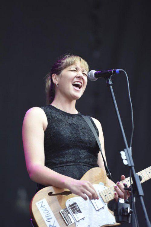 Sängerin Sophie Hunger sorgte für jazzige Klänge.
