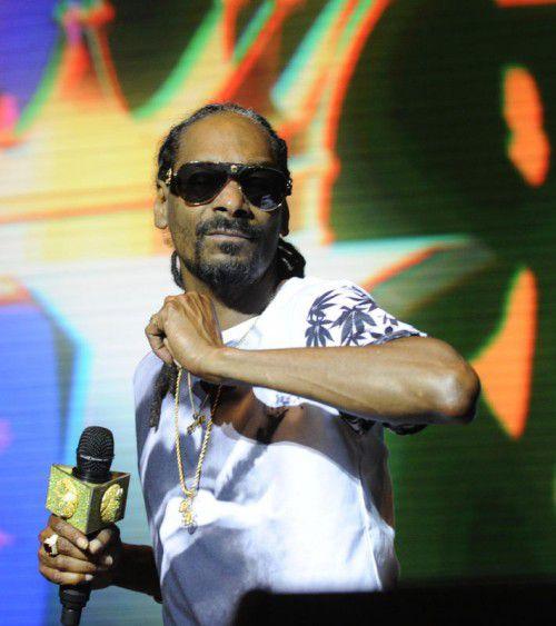 Snoop Dogg war wegen eines Konzerts in Schweden.