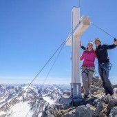 Malerischer Gipfelsturm