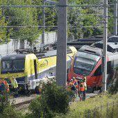 Züge in Wien kollidiert