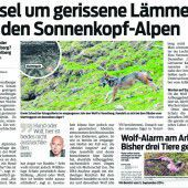 Raubtiere am Arlberg
