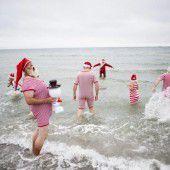 Weltweiter Wettstreit der Weihnachtsmänner