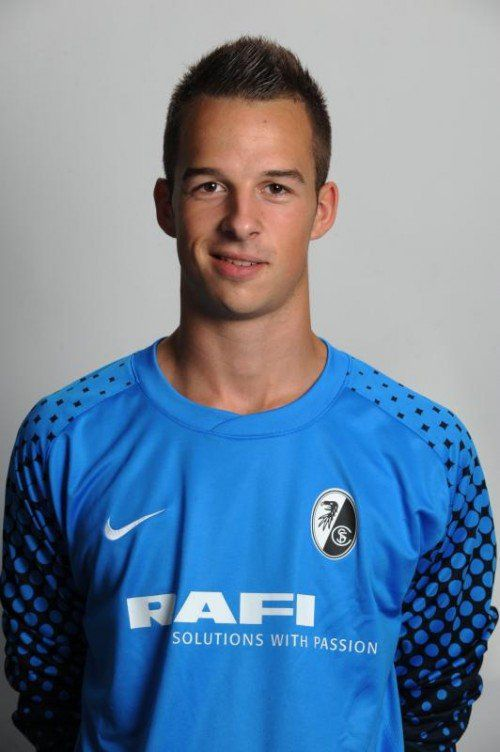 Wechselt ins Profilager: Goalie Lucas Bundschuh. Foto: verein