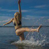 Sommer, Sonne und Badefreuden im See