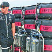 Rosberg jagt Hamilton, aber niemand die Silberpfeile