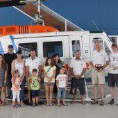 Wucher Helicopter erfüllt Kinder-Wunsch