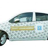ZF zeigt das Stadtauto der Zukunft