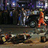 Verdächtiger schweigt zu Explosion in Bangkok