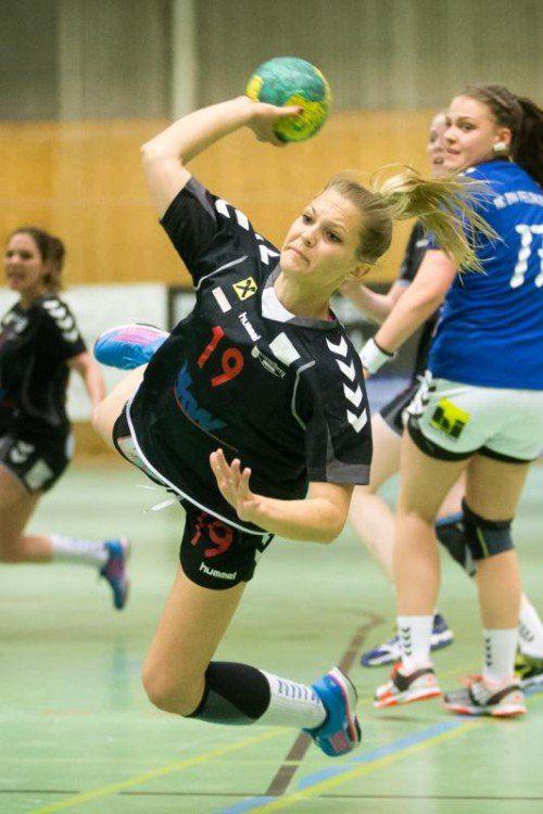 Anna Moosbruger erzielte in St. Pölten sieben Tore.