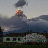 Hunderte vor Vulkan in Sicherheit gebracht
