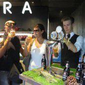 Bludenzer Bier stillt durstige Expo-Kehlen