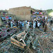 Anschlagsserie erschütterte Kabul