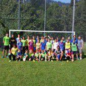 Sommer, Spaß und ganz viel Fußball