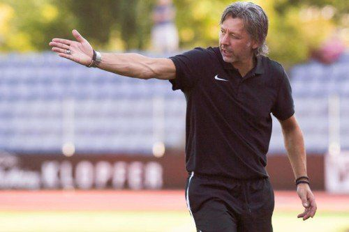 Bregenz-Trainer Hans Kogler wünscht sich drei Punkte von seiner Mannschaft.