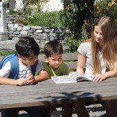 Bugo in Göfis hilft beim Deutschlernen